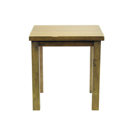 Chunky square table weathered oak3
